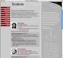 NCSU CRDM Students Page